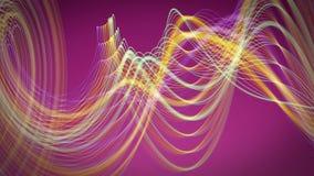 Fantastische Animation mit beweglichem Streifendesign, Schleife HD 1080p stock video footage