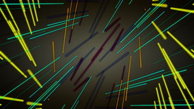 Fantastische Animation mit beweglichem Streifengegenstand, Schleife HD 1080p stock video footage