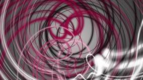 Fantastische Animation mit beweglichem Streifengegenstand, Schleife HD 1080p stock footage