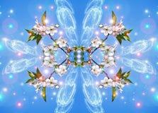 Fantastische de lente ornamen stock illustratie