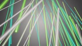 Fantastische eco Animation mit beweglichem Streifenhintergrunddesign, Schleife HD 1080p stock footage
