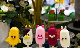 Fantastische Eiscreme Lizenzfreies Stockfoto
