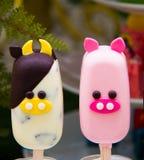 Fantastische Eiscreme Lizenzfreie Stockbilder