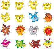 Fantastische karakters Stock Afbeelding