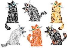 Fantastische Katzen Stockbild