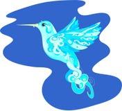 Fantastische kolibrie Stock Afbeelding