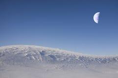 Fantastische maan royalty-vrije stock foto