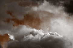 Fantastische magische hemel Royalty-vrije Stock Afbeeldingen