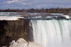 Fantastische Niagara-dalingen van Mei Royalty-vrije Stock Afbeeldingen