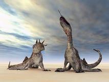 Fantastische schepselen Stock Foto's