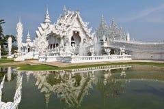 Fantastische schoonheid het Witte paleis Stock Afbeeldingen