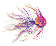Fantastische vissen stock illustratie