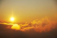 Fantastische zonsopgang Royalty-vrije Stock Afbeelding