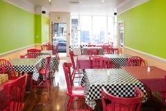 Fantastischer Caféinnenraum Lizenzfreies Stockfoto