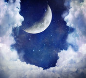 Fantastischer Himmel Lizenzfreies Stockfoto