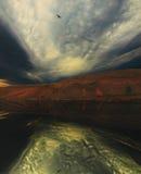 Fantastischer Himmel Stockbild