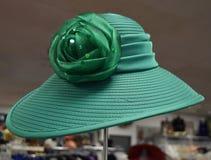 Fantastischer Hut für Derby-Tag stockfotografie
