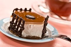 Fantastischer Kuchen stockfotografie