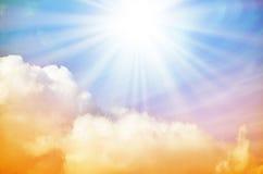 Fantastischer mehrfarbiger Himmel Lizenzfreies Stockbild