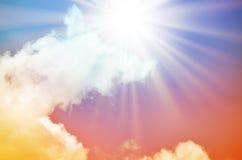 Fantastischer mehrfarbiger Himmel Lizenzfreie Stockfotografie