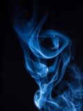 Fantastischer Rauch Stockfoto