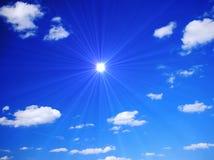 Fantastischer Sommer-Himmel Lizenzfreie Stockfotografie