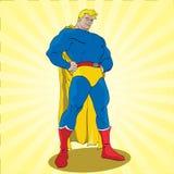 Fantastischer Superheld Lizenzfreies Stockfoto