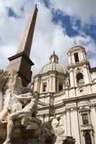 Fantastischer Trevi-Brunnen in Rom/in Italien Stockfotos