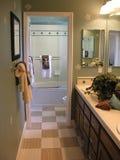 Fantastisches Badezimmer Stockfoto