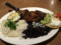 Fantastisches mexikanisches Lebensmittel-Speisen stockbild