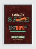 Fantastisches Verkaufs-Plakat-, Fahnen- oder Fliegerdesign Lizenzfreie Stockfotografie