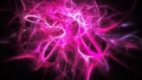 Fantastisk abstrakt rosa kosmisk bakgrund Arkivfoto