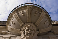 fantastisk balkongframsida Royaltyfri Fotografi