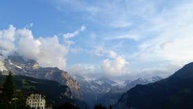 Fantastisk bergsikt royaltyfria foton