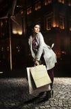 fantastisk brunett Royaltyfri Bild