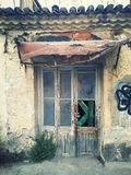 Fantastisk dörr Arkivfoto