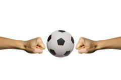 fantastisk fotboll Arkivbilder