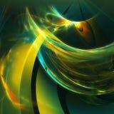 fantastisk fractal Arkivbild