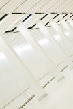 fantastisk inre white för kolonner Royaltyfria Foton
