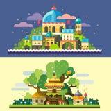 fantastisk liggande royaltyfri illustrationer