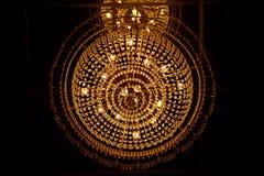 Fantastisk ljuskrona Arkivfoto