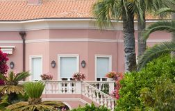 fantastisk lyxig villa Royaltyfri Fotografi