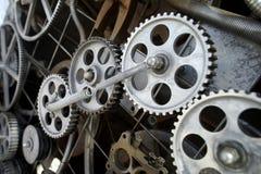 Fantastisk mekanism av enmotor Arkivbild