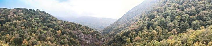 fantastisk naturpanorama Arkivfoton