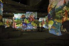 Fantastisk och underbar värld av Bosch, Brueghel och Arcimboldo Royaltyfri Bild