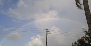 fantastisk regnbåge arkivfoton