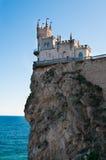 fantastisk rock för slott royaltyfri bild