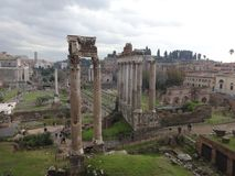 Fantastisk sikt av Romans Forum 2 arkivbilder
