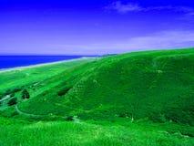 Fantastisk sikt från Wale'sens kulle Royaltyfri Bild