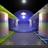 Fantastisk simbassäng vektor illustrationer